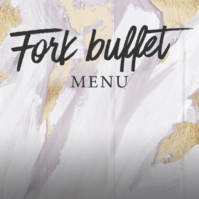 Fork buffet menu at The Old Bulls Head