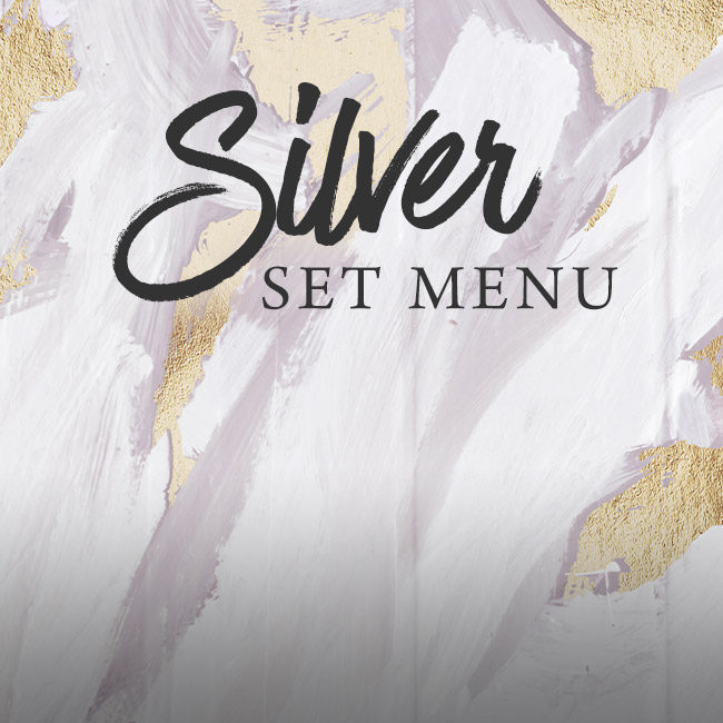 Silver set menu at The Old Bulls Head