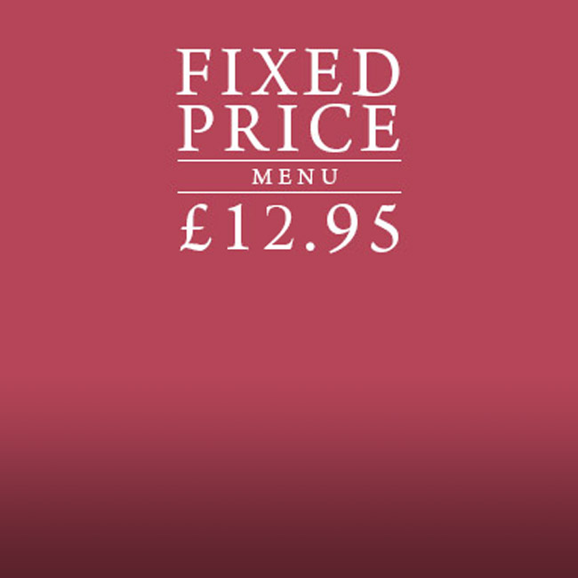 Fixed Price Menu at The Old Bulls Head